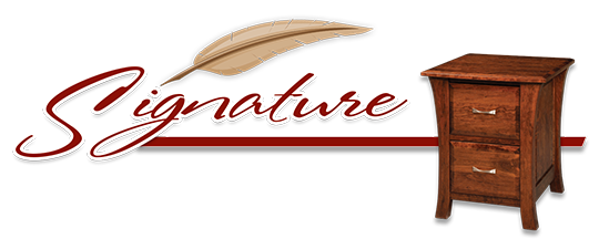 signature furniture logo