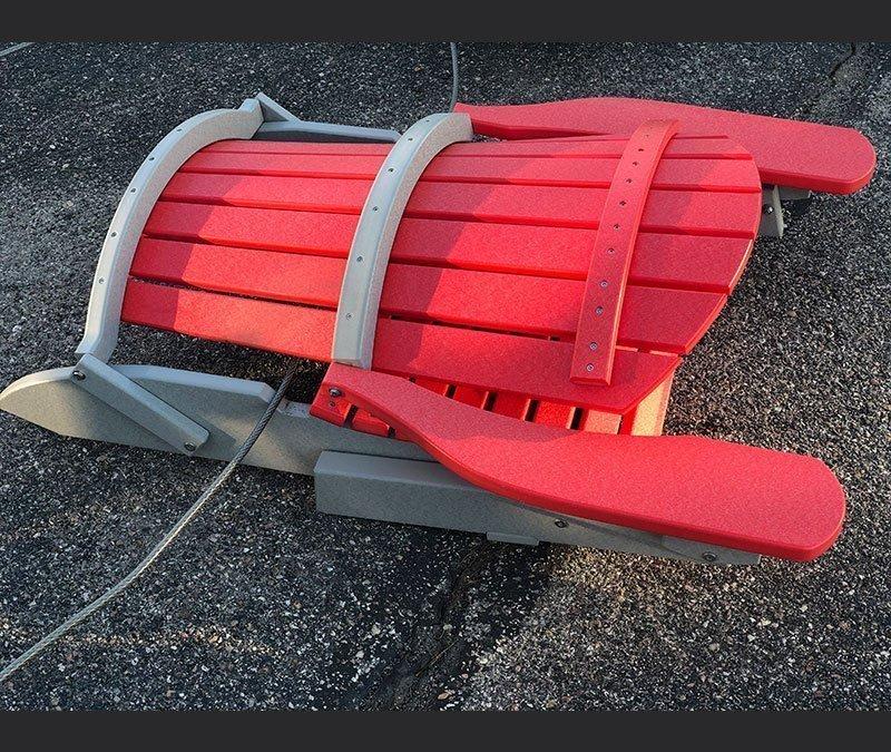 clearance adirondack chair 2 folded