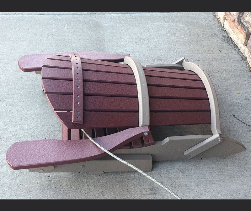 clearance adirondack chair 4 folded