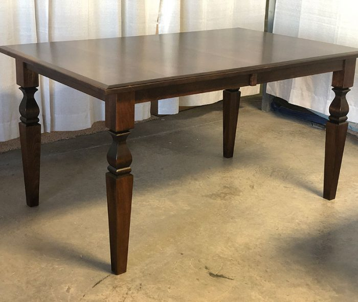 clearance cleveland leg table