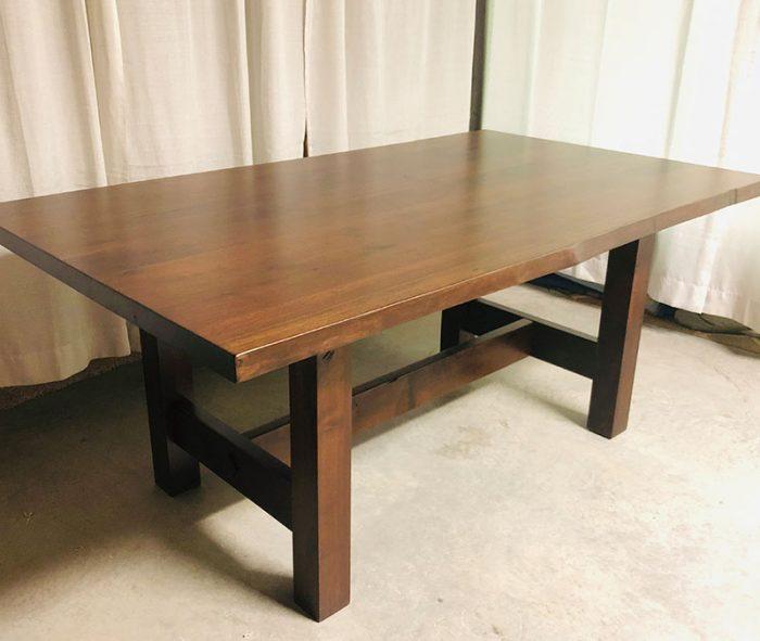 clearance vintage live edge table