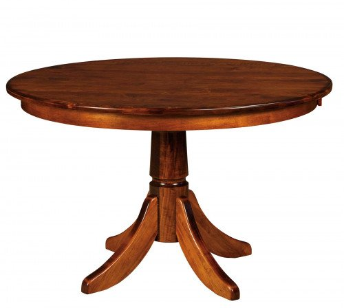 The Baytown Single Pedestal Table at Signature Fine Furnishings