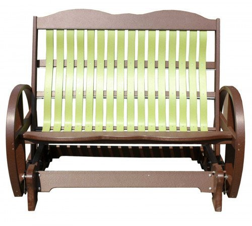 The Polybent Loveseat Glider From Signature Fine Furnishings
