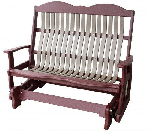 The Cottage Style Loveseat Glider From Signature Fine Furnishings