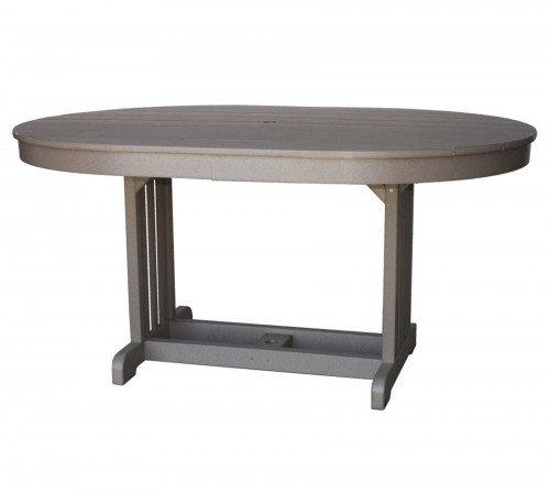The Oval Mission Table From Signature Fine Furnishings