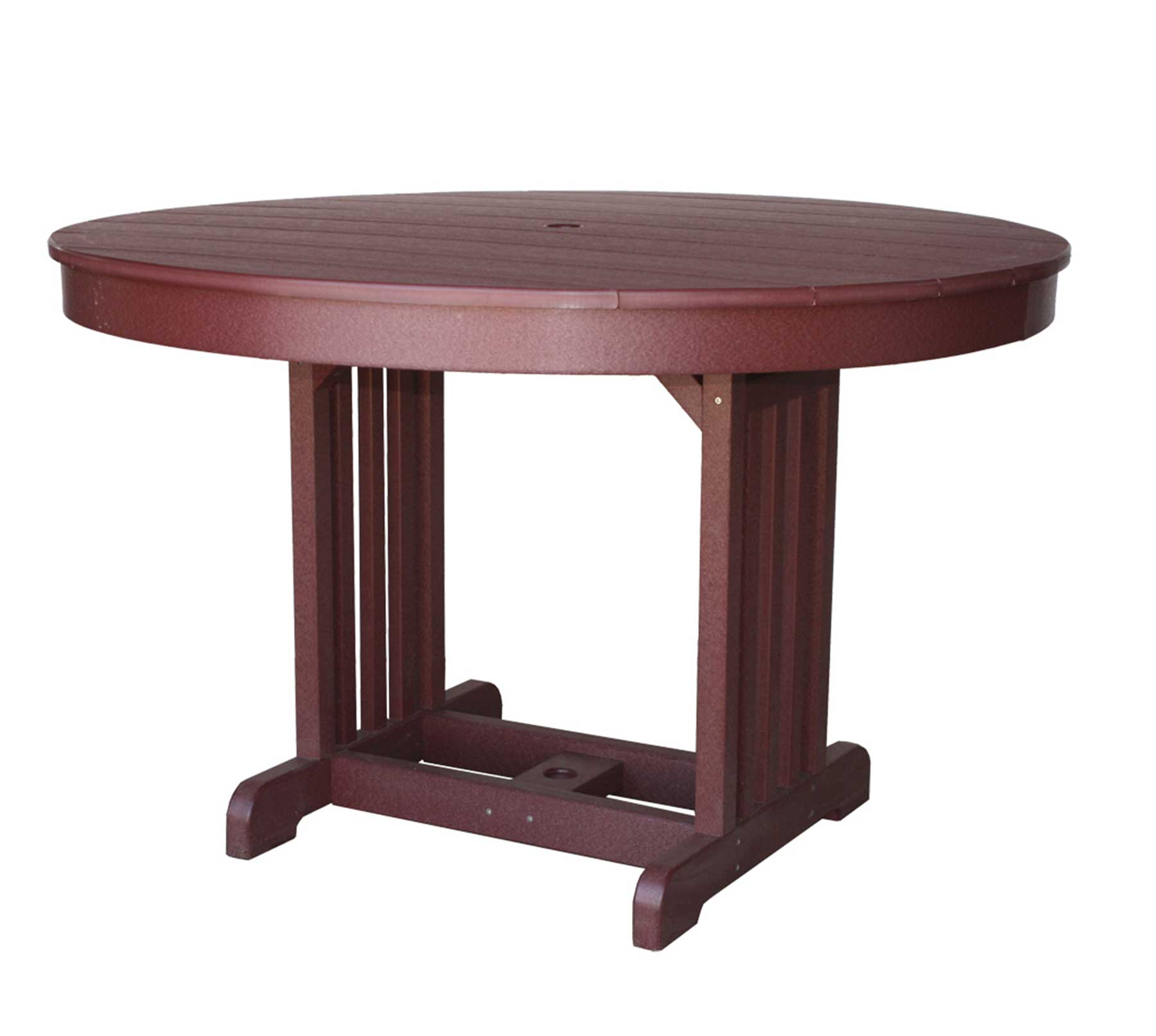 The Round Mission Table From Signature Fine Furnishings