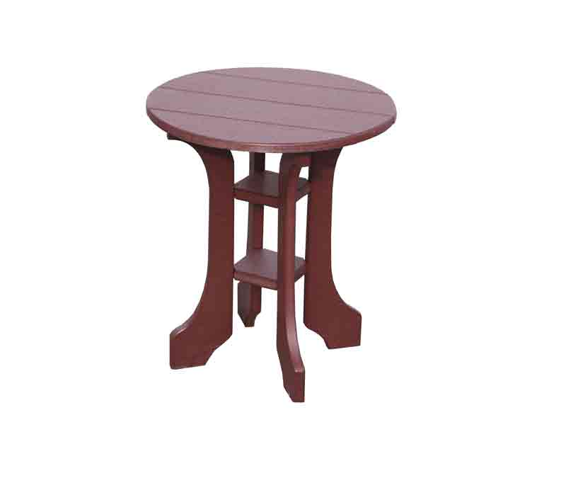 """The 20"""" Round End Table From Signature Fine Furnishings"""