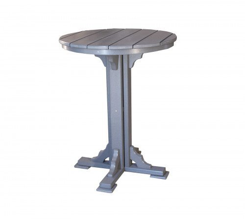 """The 34"""" Round Bar Table From Signature Fine Furnishings"""