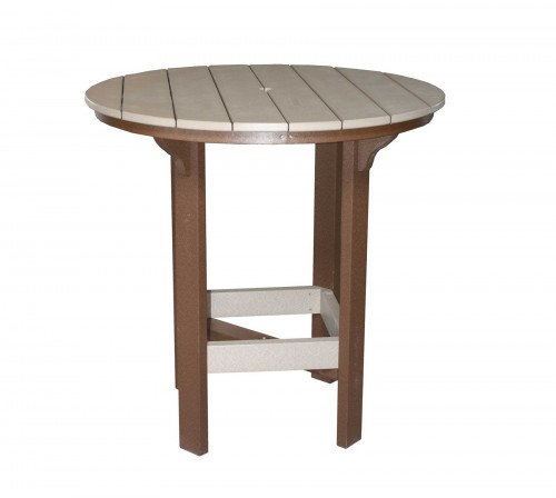 """The 42"""" Round Bar Table From Signature Fine Furnishings"""
