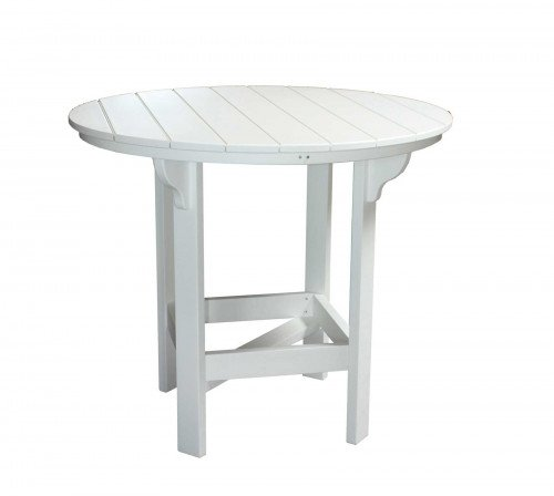 """The 48"""" Round Bar Table From Signature Fine Furnishings"""