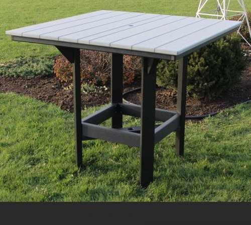 """The 48"""" Square Bar Table From Signature Fine Furnishings"""