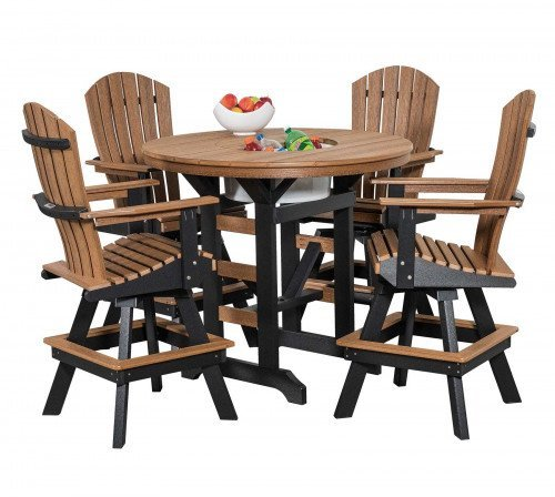 """The Breachcrest 48"""" Round Table From Signature Fine Furnishings"""