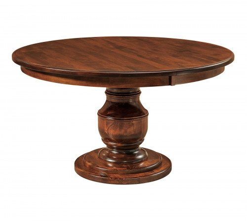 The Burlington Single Pedestal Table at Signature Fine Furnishings