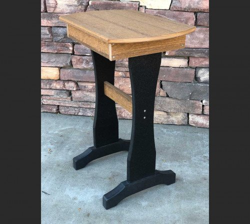 The Hoosier Oval End Table From Signature Fine Furnishings