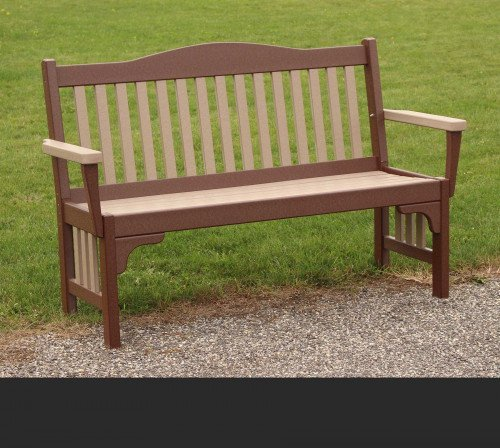 The Mission Park Bench From Signature Fine Furnishings