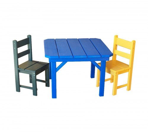 The Child's Economy Chair and Table From Signature Fine Furnishings