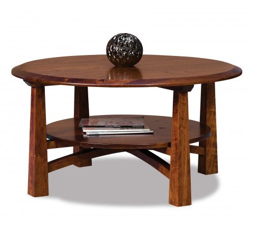 The Artesa Round Coffee Table From Signature Fine Furnishings