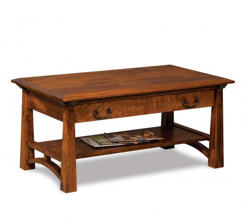 The Artesa Coffee Table with Drawer From Signature Fine Furnishings