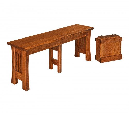 The Arts and Crafts Bench From Signature Fine Furnishings