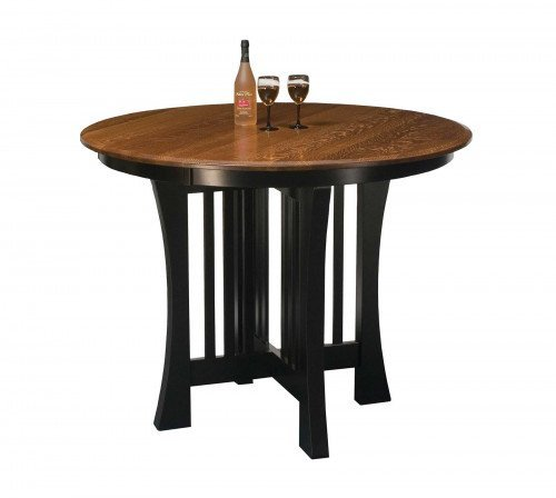 The Arts and Crafts Pub Table From Signature Fine Furnishings