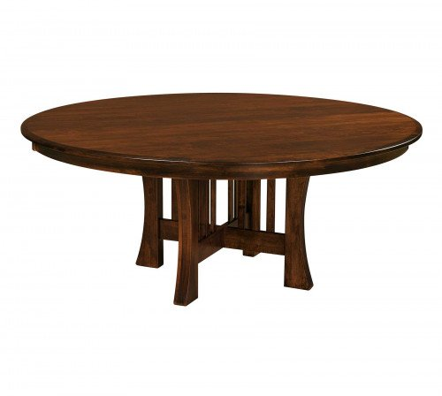 The Arts and Crafts Pedestal Table From Signature Fine Furnishings