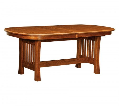 The Arts and Crafts Trestle Table From Signature Fine Furnishings