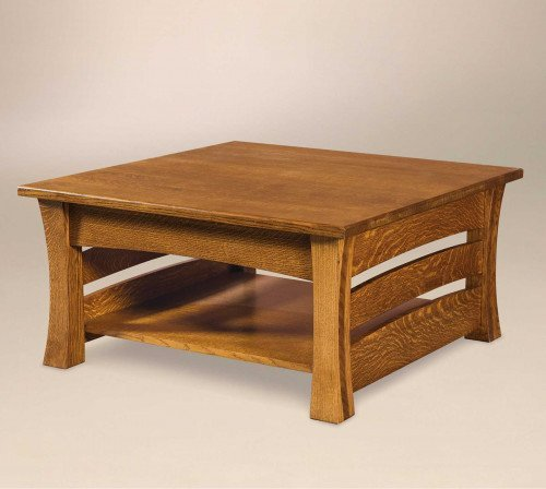 The Barrington Square Coffee Table From Signature Fine Furnishings