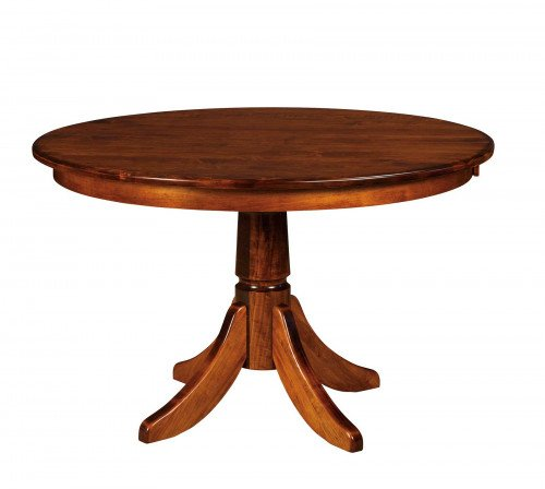The Baytown Single Pedestal Table From Signature Fine Furnishings