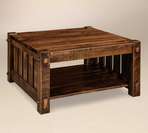 The Beaumont Square Coffee Table From Signature Fine Furnishings