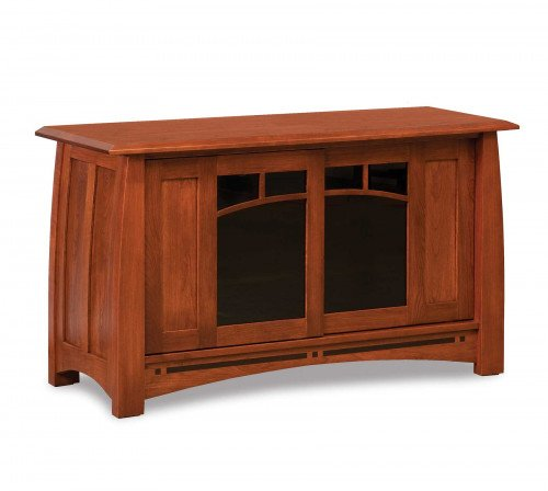 """The Boulder Creek 48"""" Entertainment Center From Signature Fine Furnishings"""