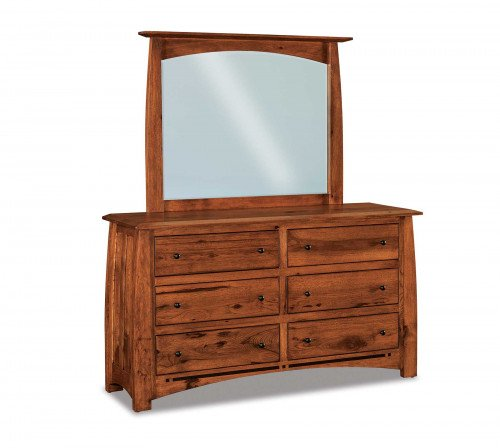 The Boulder-Creek 60 in.  6-drawer Dresser From Signature Fine Furnishings