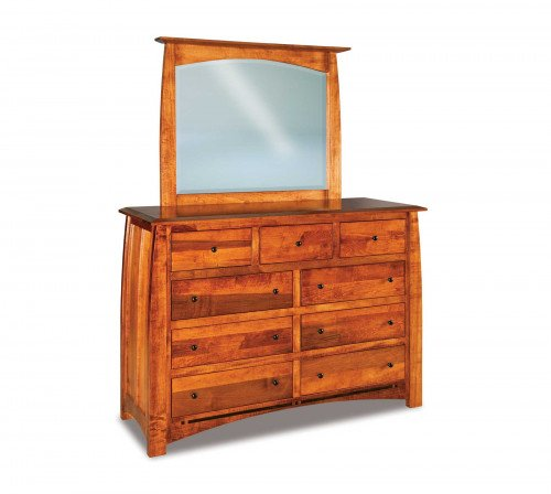 The Boulder-Creek 60 in. 9-drawer Dresser From Signature Fine Furnishings