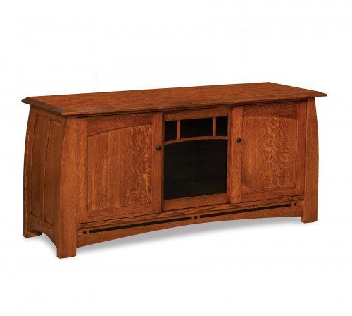 """The Boulder Creek 63"""" Entertainment Center From Signature Fine Furnishings"""