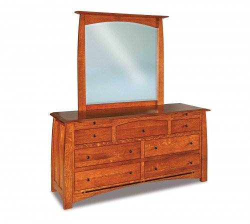 The Boulder-Creek 7-drawer Jewelry Dresser From Signature Fine Furnishings