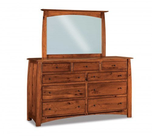 The Boulder-Creek 73 in. 9 drawer Dresser From Signature Fine Furnishings