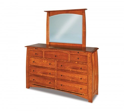 The Boulder-Creek 9-drawer Jewelry Dresser  From Signature Fine Furnishings