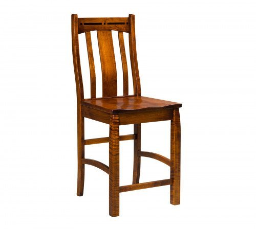 The Boulder Creek Stationary Barstool From Signature Fine Furnishings