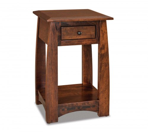 The Boulder-Creek-Condo-Open-Nightstand From Signature Fine Furnishings