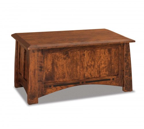 The Boulder Creek Blanket Chest From Signature Fine Furnishings