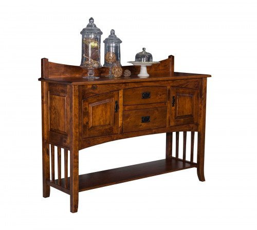 The Cambia Open Sideboard From Signature Fine Furnishings