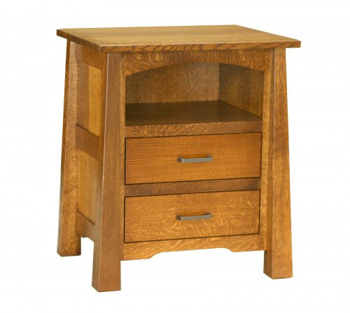The Cambridge2 Drawer Open Nightstand From Signature Fine Furnishings
