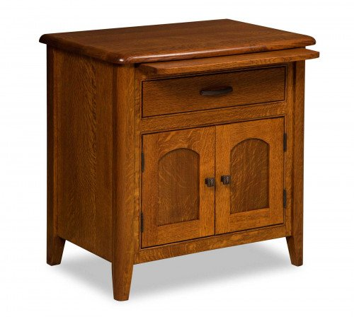 The Cascade Drawer Door Nightstand From Signature Fine Furnishings