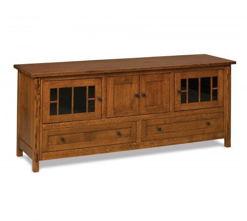 """The Centennial 72"""" Entertainment Center From Signature Fine Furnishings"""