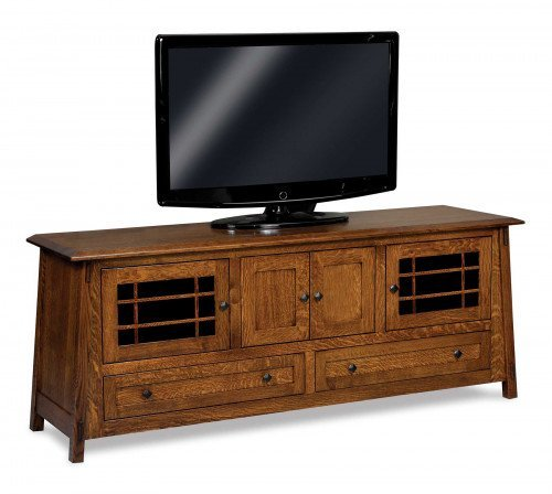 """The Colbran 73"""" Entertainment Center From Signature Fine Furnishings"""