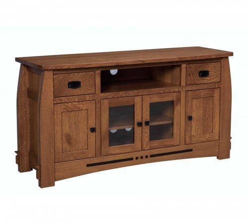 """The Colebrook 59"""" Entertainment Center From Signature Fine Furnishings"""