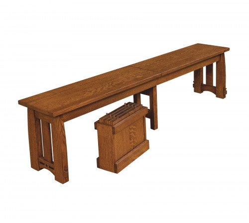 The Colebrook Bench From Signature Fine Furnishings
