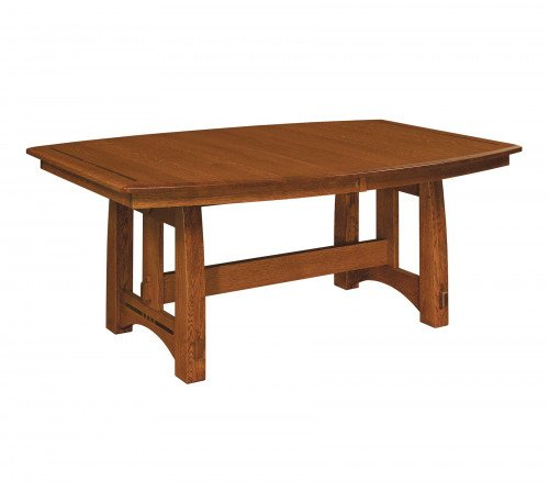 The Colebrook Trestle Table From Signature Fine Furnishings