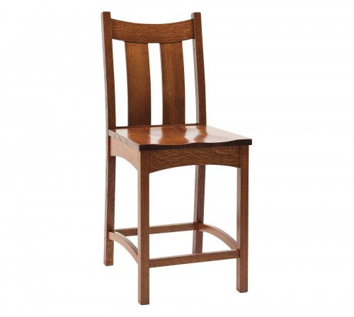 The Country Shaker Stationary Barstool From Signature Fine Furnishings