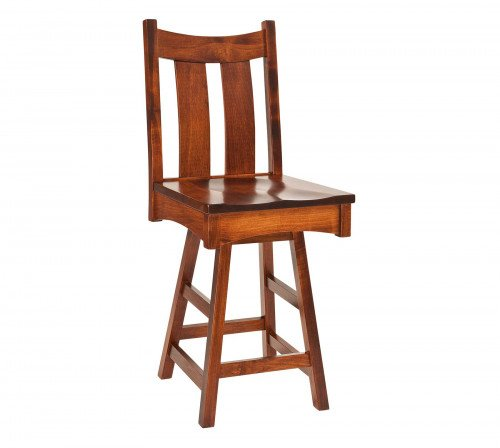 The Country Shaker Swivel Barstool From Signature Fine Furnishings