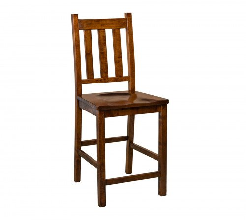 The Denver Stationary Barstool From Signature Fine Furnishings